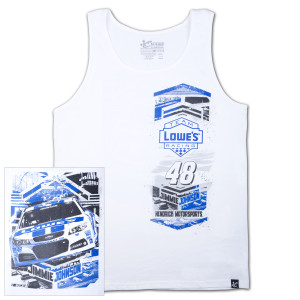 Jimmie Johnson #48 Lowe's Heritage Tank