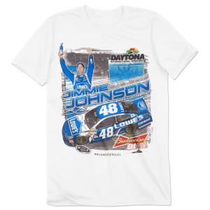 Jimmie Johnson #48 2015 BUDWEISER DUEL Race Winner T-shirt