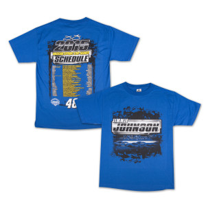 Jimmie Johnson Driver 2015 Schedule Tee