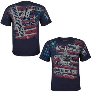 Jimmie Johnson American Salute Total Print T-Shirt