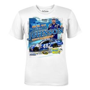 Jimmie Johnson #48 2015 Kansas Race Winner T-shirt
