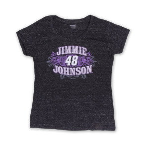 Jimmie  #48 Women's Tri Blend Gnarly T-Shirt