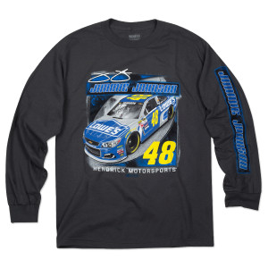 Jimmie Johnson #48 Velocity L/S T-Shirt