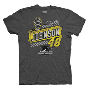 Jimmie Johnson 2016 NASCAR Champ 1-spot Vintage Fashion  T-shirt