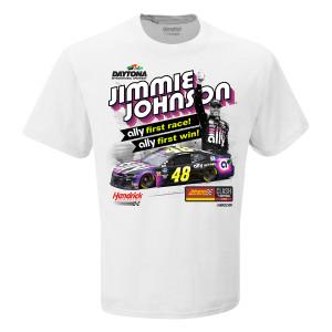 Jimmie Johnson #48 2019 Clash at Daytona Win T-shirt PRE-ORDER