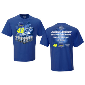 Jimmie Johnson Career Stats T-shirt - EXCLUSIVE