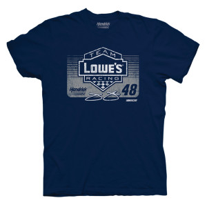 Jimmie Johnson #48 Lowe's Retro T-shirt