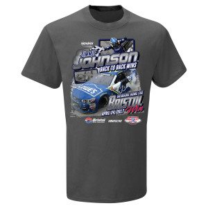 Jimmie Johnson #48 2017 BRISTOL Victory T-shirt
