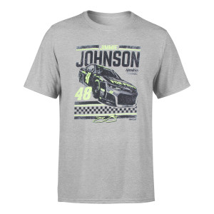 Jimmie Johnson #48 2018 Lowe's Retro 1-Spot T-shirt