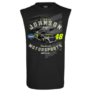Jimmie Johnson #48 2018 Lowe's Muscle 1-Spot T-shirt