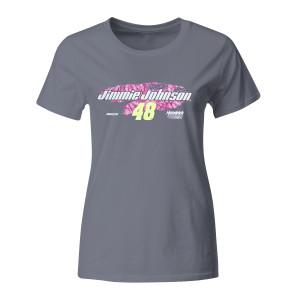 Jimmie Johnson 2018 #48 Ladies TrueTimber Graphic T-shirt