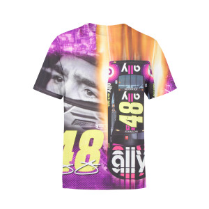 Jimmie Johnson #48 2019 NASCAR Youth Total Print T-shirt