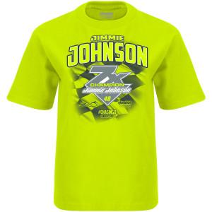Jimmie Johnson #48 2020 7X Champion Youth T-shirt