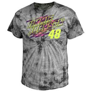 Jimmie Johnson #48 2020 Ally Car Tie Dye T-Shirt