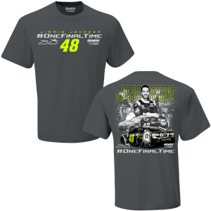 Jimmie Johnson #48 #ONEFINALTIME T-shirt
