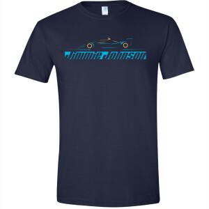 Jimmie Johnson #48 2021 Indycar Outline Tee