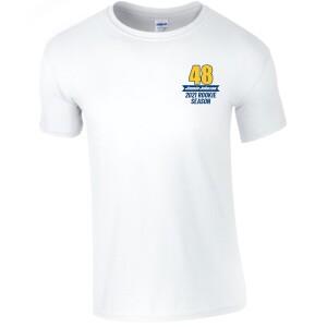Jimmie Johnson 2021 IndyCar Rookie Season T-shirt