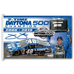 Jimmie Johnson #48 2013 Daytona 500 Champion 3' x 5' Flag