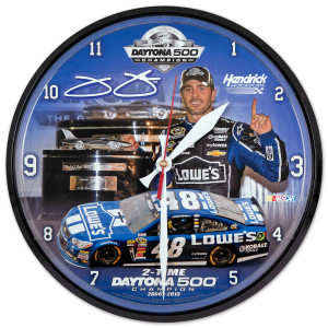 Jimmie Johnson #48 2013 Daytona 500 Champion Wall Clock