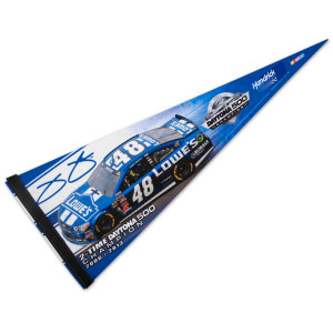 "Jimmie Johnson #48 2013 Daytona 500 Champion 12"" x 30"" Premium Quality Pennant"