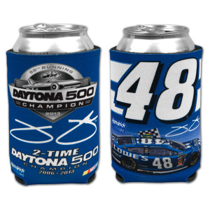 Jimmie Johnson #48 2013 Daytona 500 Champion Can Cooler