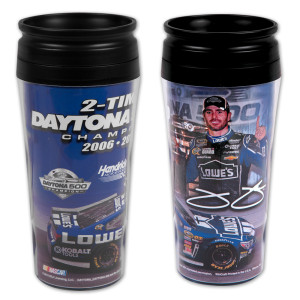 Jimmie Johnson #48 2013 Daytona 500 Champion Travel Mug