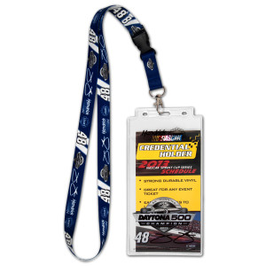 Jimmie Johnson #48 2013 Daytona 500 Champion Lanyard/Credential Holder