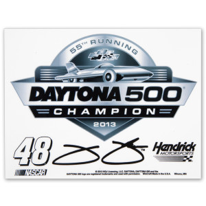 Jimmie Johnson #48 2013 Daytona 500 Champion Ultra Decal