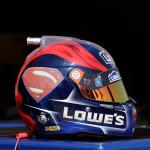 Jimmie Johnson #48 Superman Mini Replica Helmet