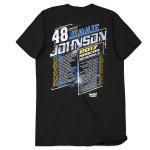 Jimmie Johnson 2017 Schedule T-shirt