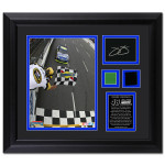 Jimmie Johnson Martinsville Photo / Tire / Green Flag / Autograph Plate