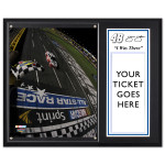 "Jimmie Johnson #48 2012 All Star Win 12""x15"" Plaque w/Ticket Holder"