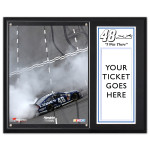 Jimmie Johnson 2013 Martinsville 12x15 Plaque w/ 8x10 Photo & Ticket Holder