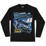Jimmie Johnson #48 2013 Sprint Cup Champion Long-sleeve T-shirt