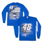 Jimmie Johnson Driver 2015 Schedule Tee LS