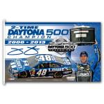 Jimmie Johnson #48 2013 Daytona 500 Champion 3' x 5' Flag