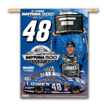 Jimmie Johnson #48 2013 Daytona 500 Champion Vertical Banner