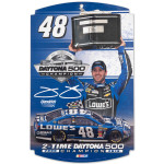 Jimmie Johnson #48 2013 Daytona 500 Champion Large Wood Sign