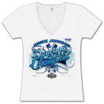 Jimmie Johnson #48 2013 Daytona 500 Champion Ladies T-shirt
