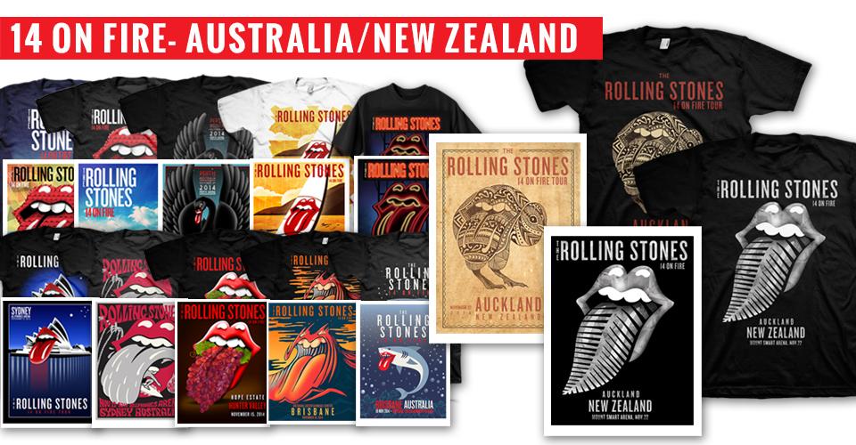 14 On Fire - Australia/New Zealand