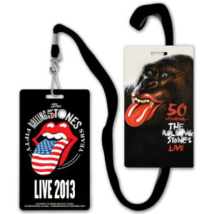 Rolling Stones Live 2013 Laminate