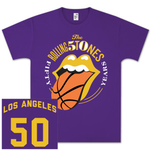 The Rolling Stones 50 And Counting LA Event T-Shirt