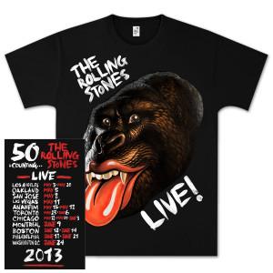 Rolling Stones GRRR! Date Back T-Shirt
