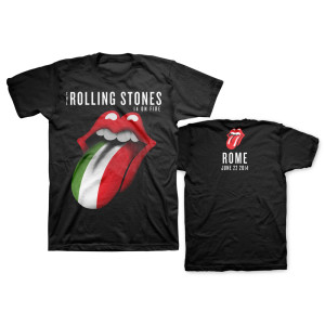Rolling Stones at Circus Maximus in Rome, Italy
