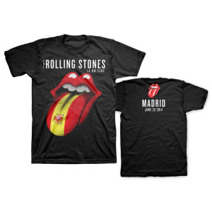 Rolling Stones at Bernabéu Stadium in Madrid, Spain