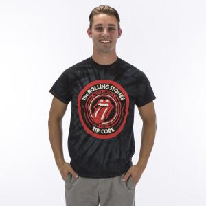 Rolling Stones Zip Code Tie Dye Tour T-Shirt