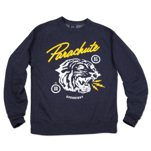 Parachute White Tiger Sweatshirt