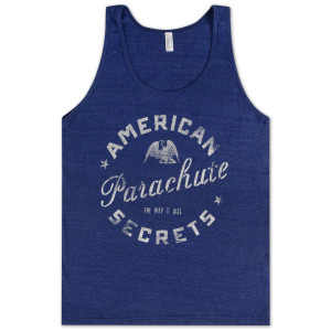 Parachute American Secrets Tank