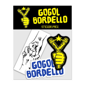 Gogol Bordello Sticker Pack