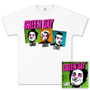 Green Day ¡Uno! Basic Bundle